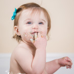 Allison at 9 and 12 months! | Linden, Michigan Children Photographer