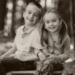 Alex and Elena | Highland, Michigan Children Photographer