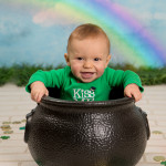 Happy St. Patrick's Day! | Holly, Michigan Children Photographer