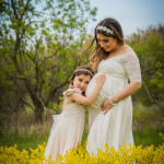Mommy & Me Maternity Session | Holly, Michigan Maternity Photographer