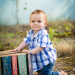 Austin turns 1! | Holly, Michigan Children Photographer