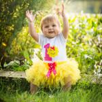 Peyton turns 1! | Holly, Michigan Children Photographer