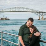 Andrew and Emma | Port Huron, Michigan Engagement Photographer
